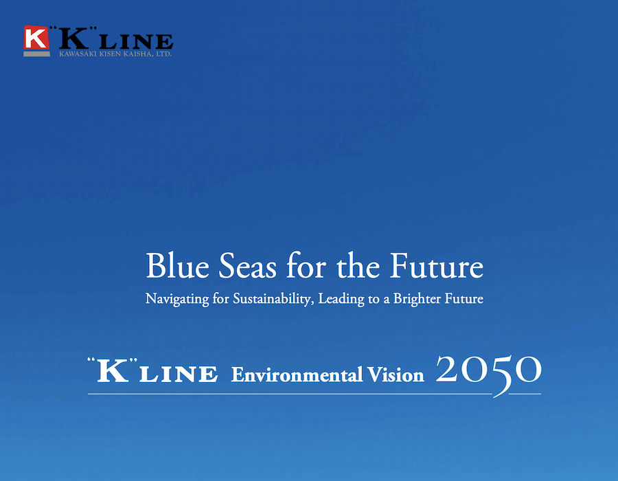 """K"" Line revises environmental guidelines to surpass IMO 2030 GHG targets"