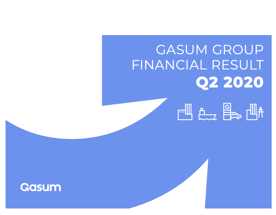 Gasum observes growth in use of gas as bunker fuel in Q2 2020 financial report