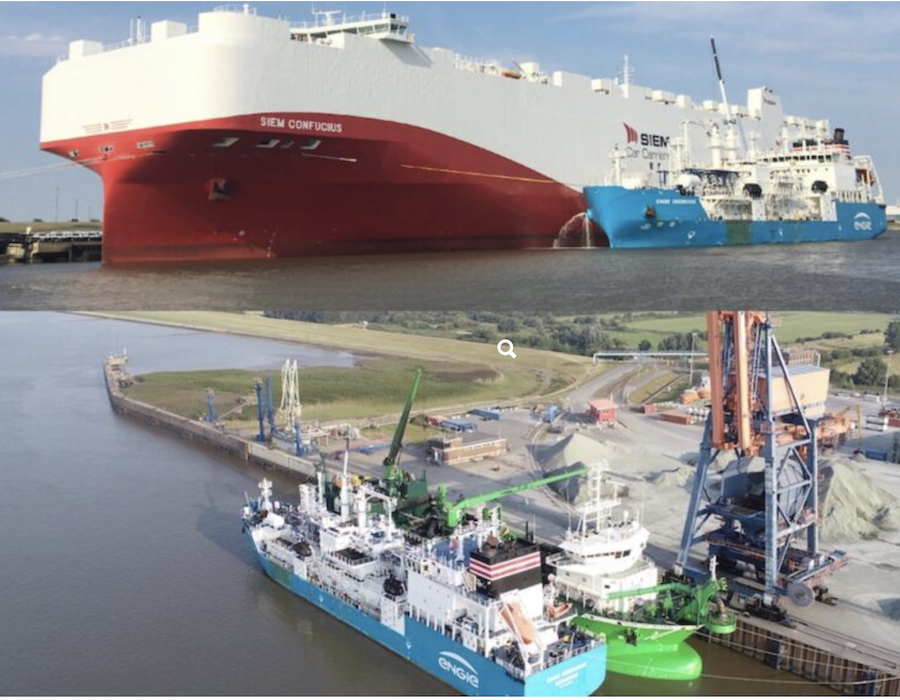Titan LNG expands LNG bunkering network in Europe to two German ports