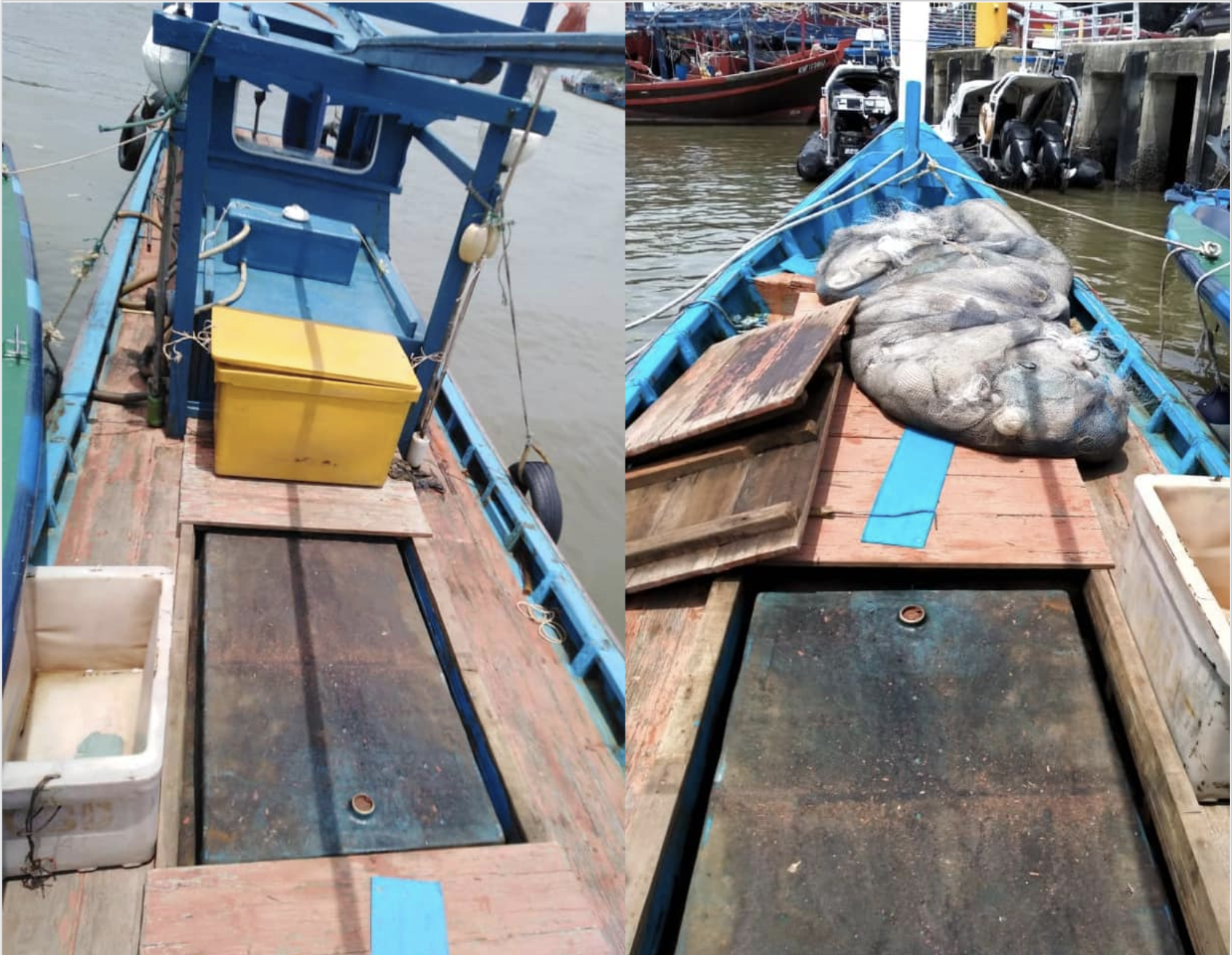 Malaysia: MMEA Perlis detains modified fishing boat suspected of smuggling diesel