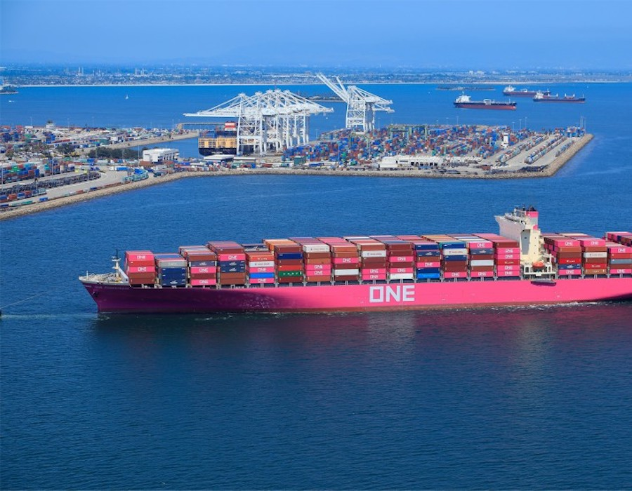 California approved regulation to reduce harmful emissions from ships while docked