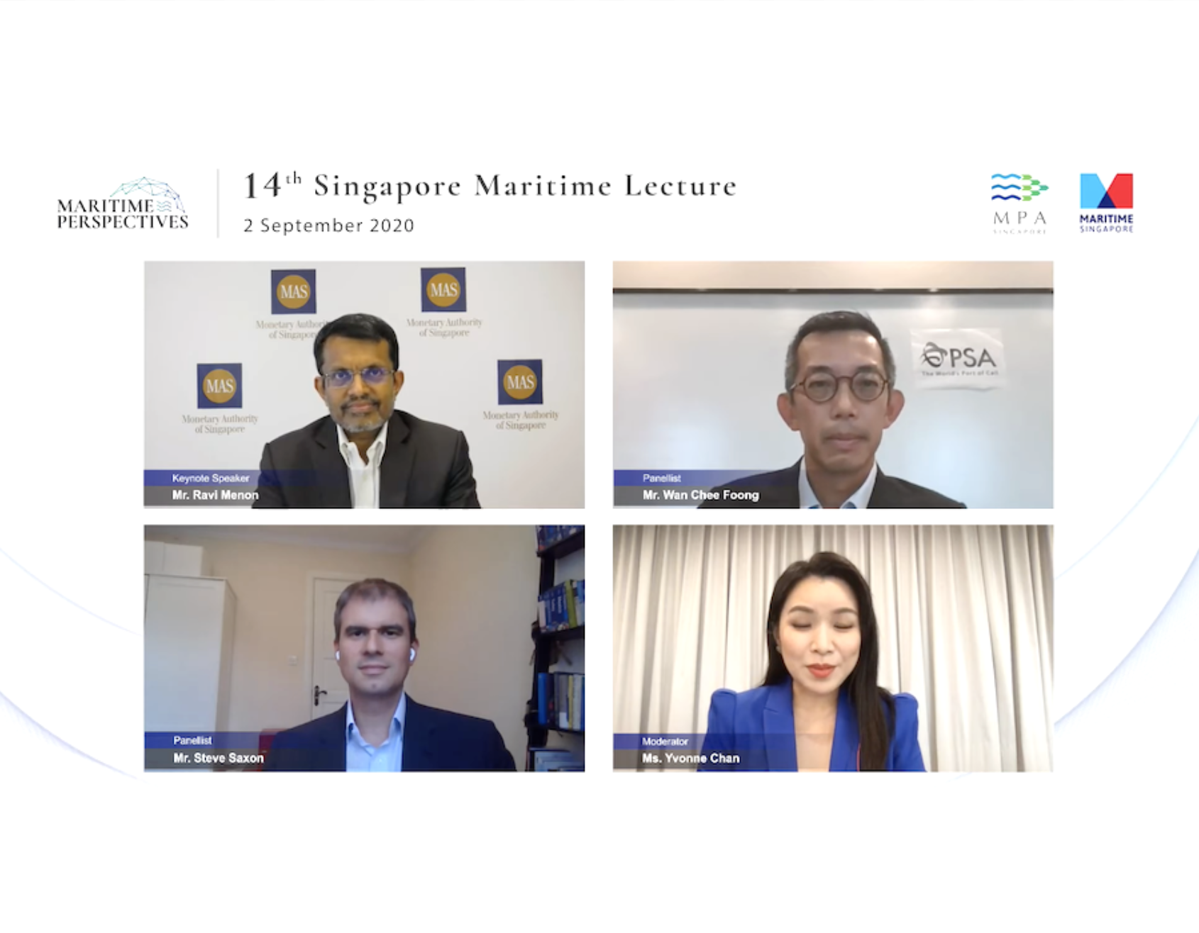 Singapore Maritime Lecture: Monetary Authority MD discusses industry transformation