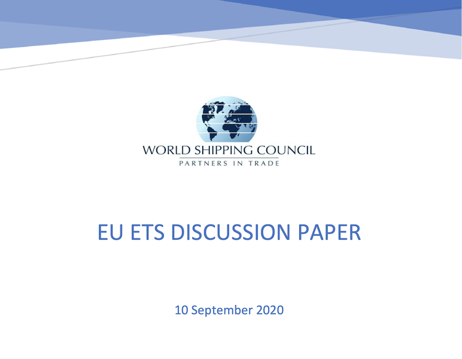 World Shipping Council publishes paper questioning EU ETS impact on reducing GHG