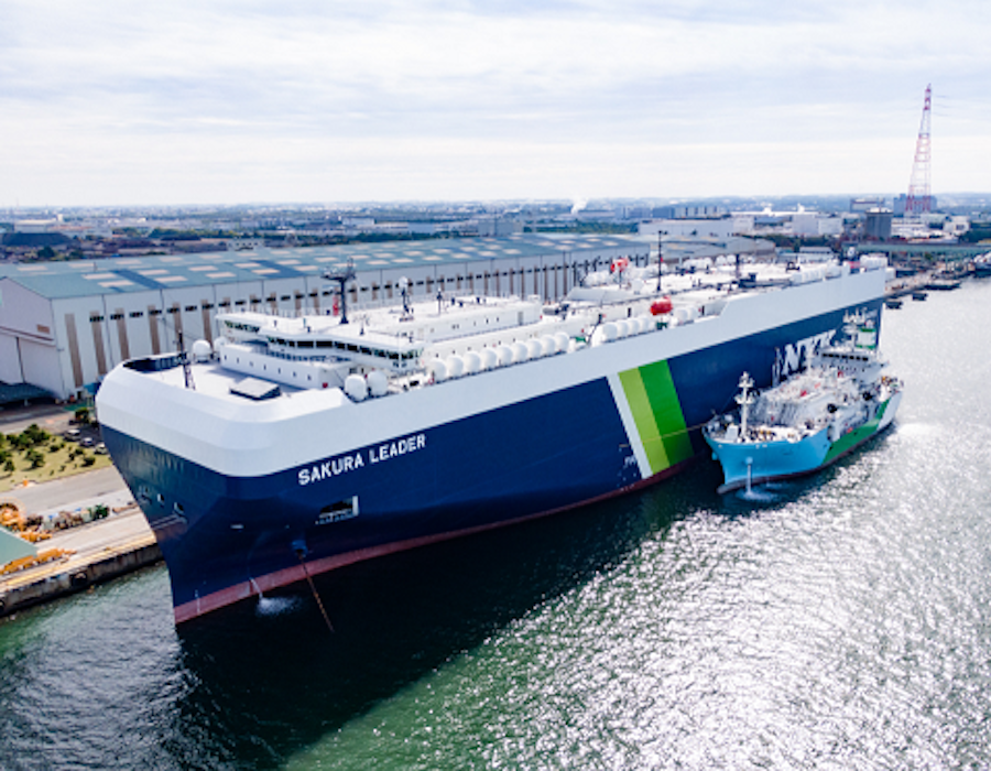 Japan: NYK LNG-fuelled car carrier receives 'Digital Smart Ship' notation by ClassNK