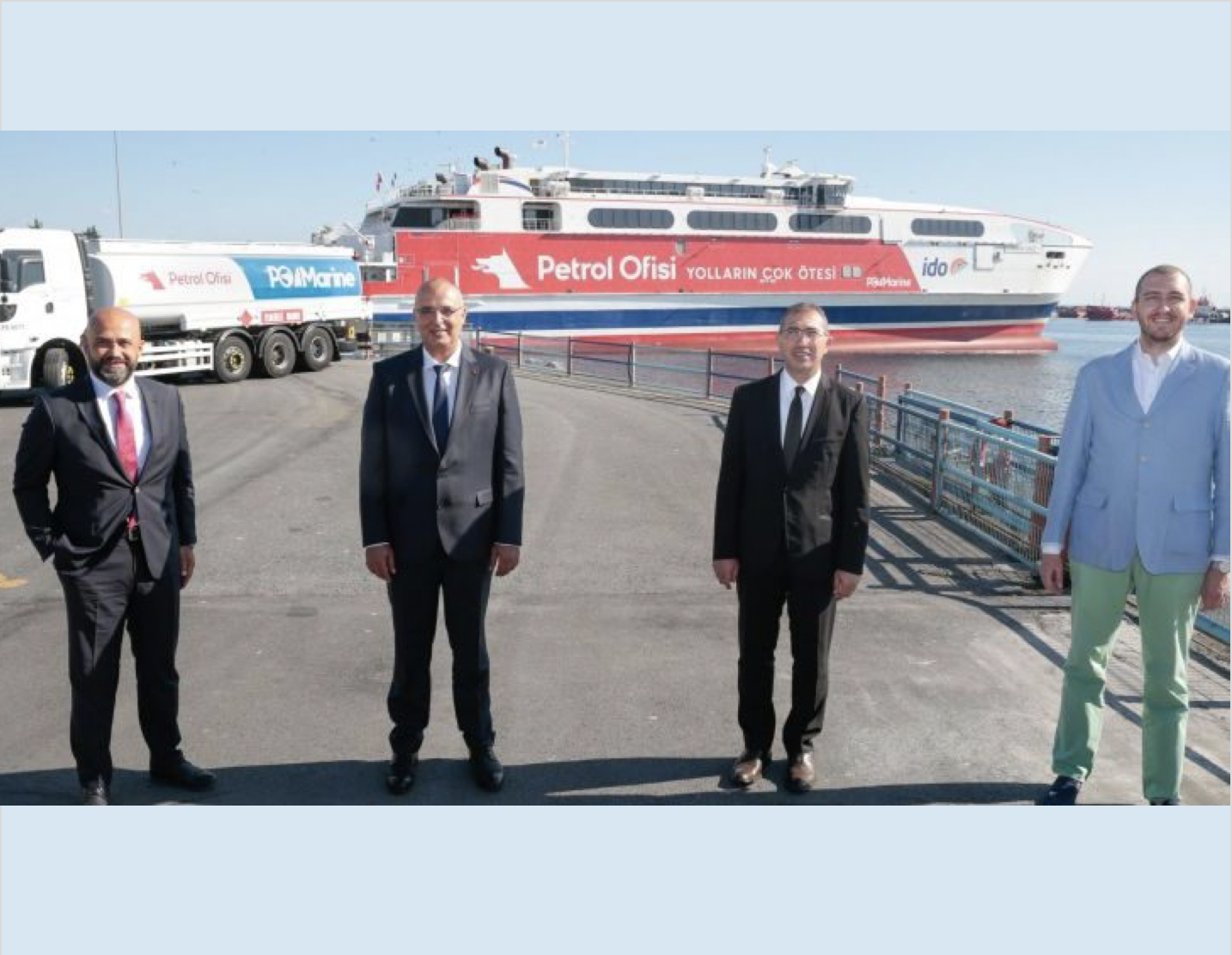 Turkey: Petrol Ofisi inks bunker supply agreement contract with Istanbul Fast Ferries Co