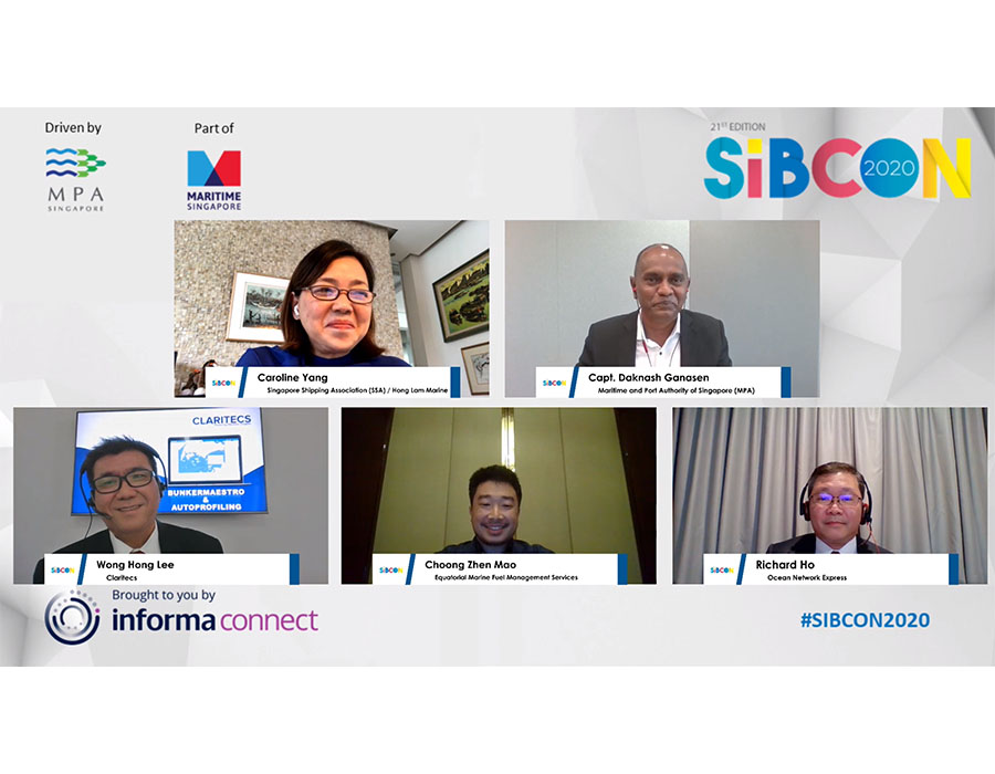 SIBCON 2020: Stakeholders discuss what awaits the future of Singapore's bunkering sector at session finale