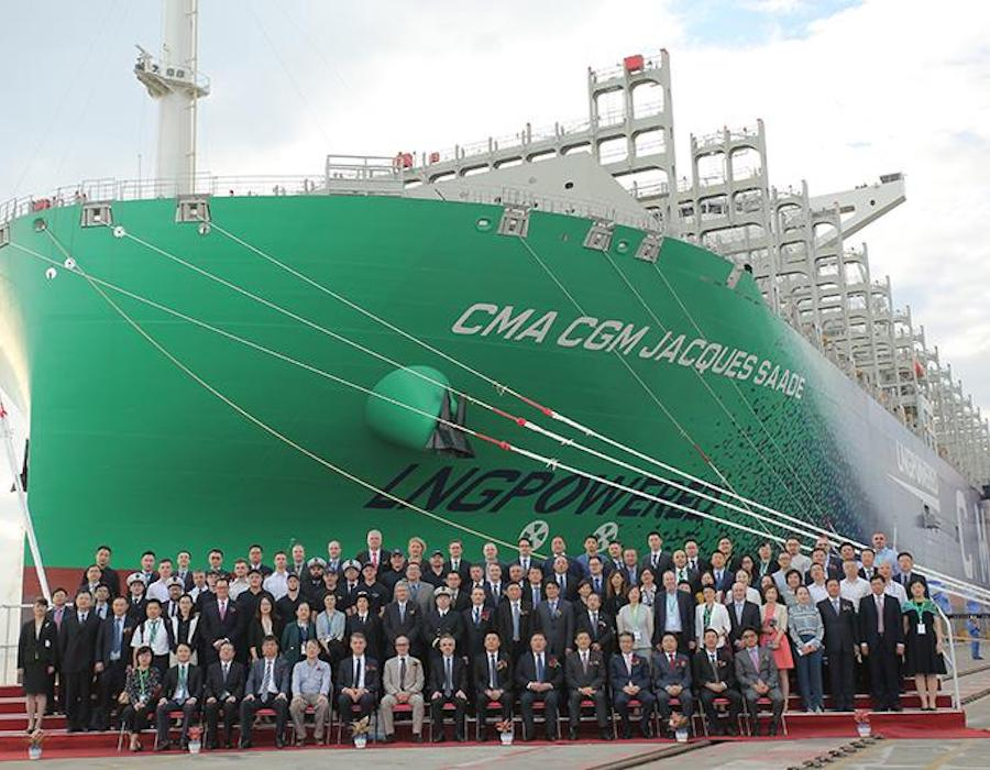 "Wärtsilä shares technologies featured on LNG-fuelled ""CMA CGM Jacques Saade"""