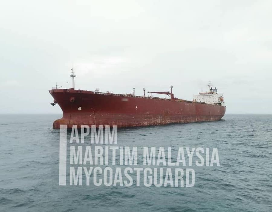 MMEA evicts five international merchant ships from Malaysian waters for illegal anchoring