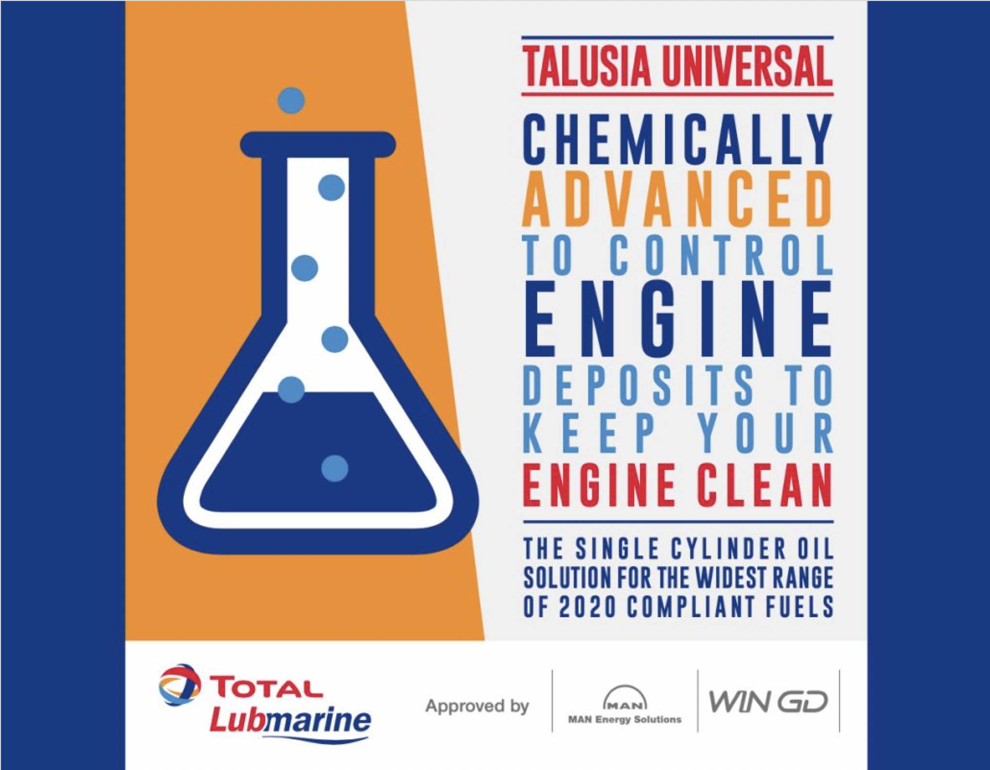 Total Lubmarine receives No Objection Letter from WinGD for 'Talusia Universal'