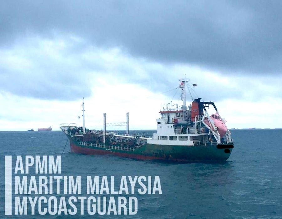 MMEA detains Malaysia & Mongolia registered tankers for anchoring illegally in Johor