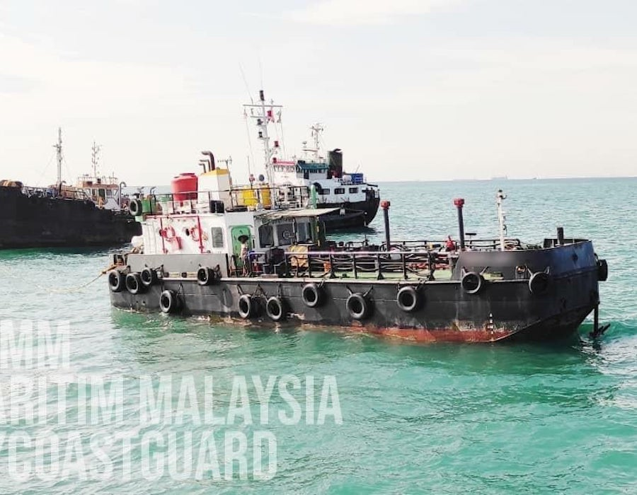 Malaysia: MMEA detains tanker for anchoring without a permit in southeastern Johor
