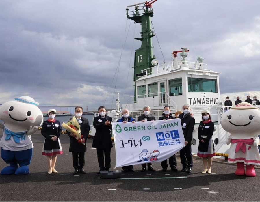 MOL completes first sea trial using Euglena renewable biodiesel as bunker fuel