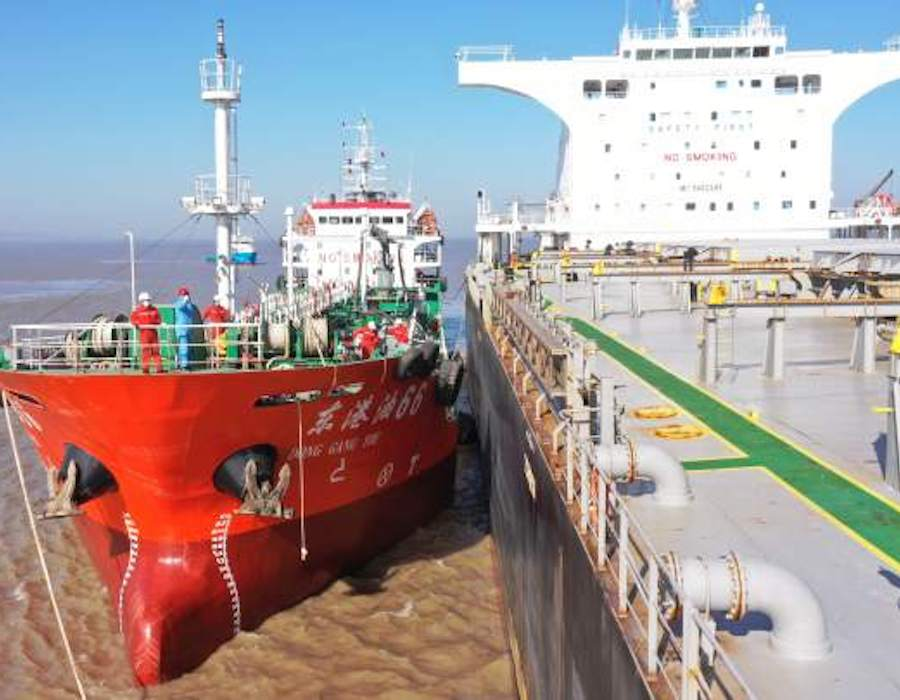 China: Low sulphur marine fuel exports reach record high in December 2020