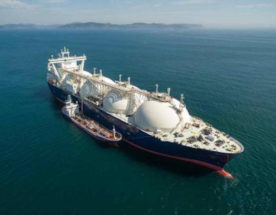 Total charters four LNG powered Aframax vessels to support emissions goal