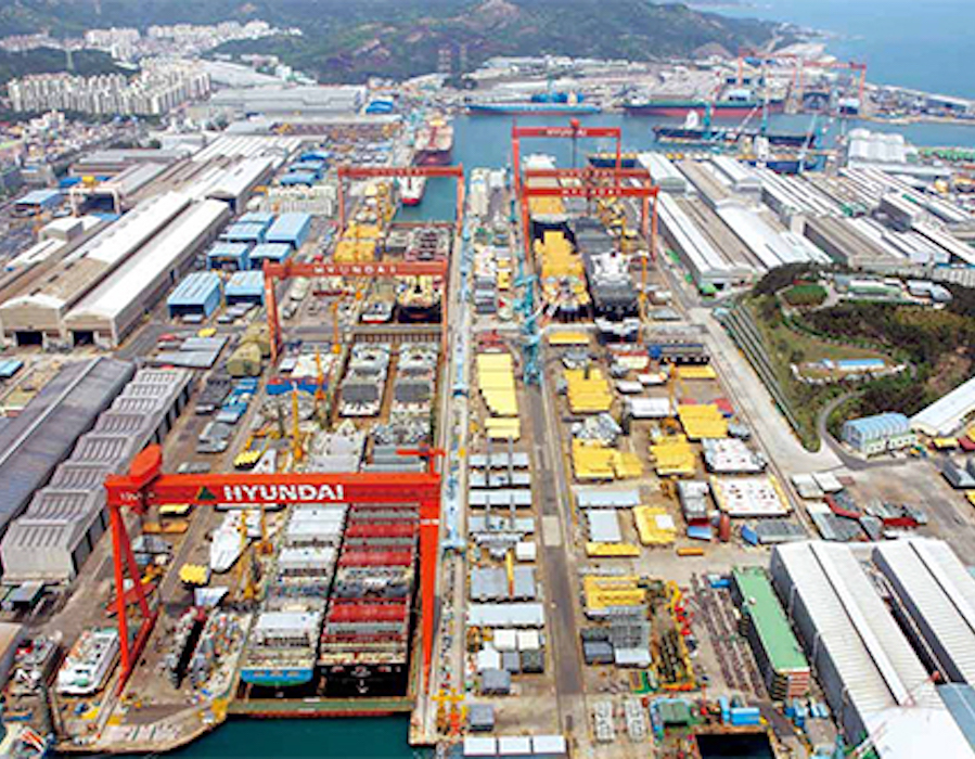 Hyundai Heavy Industries to invest KRW 1 trillion in green shipping tech through IPO