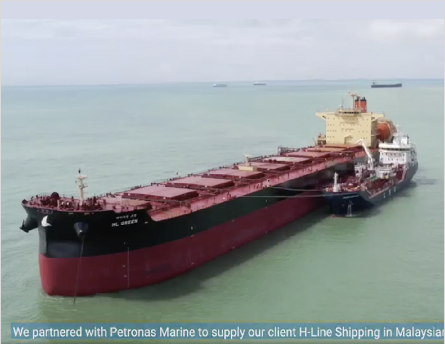 Peninsula claims largest LNG bunker delivery in maiden deal with Petronas and H-Line
