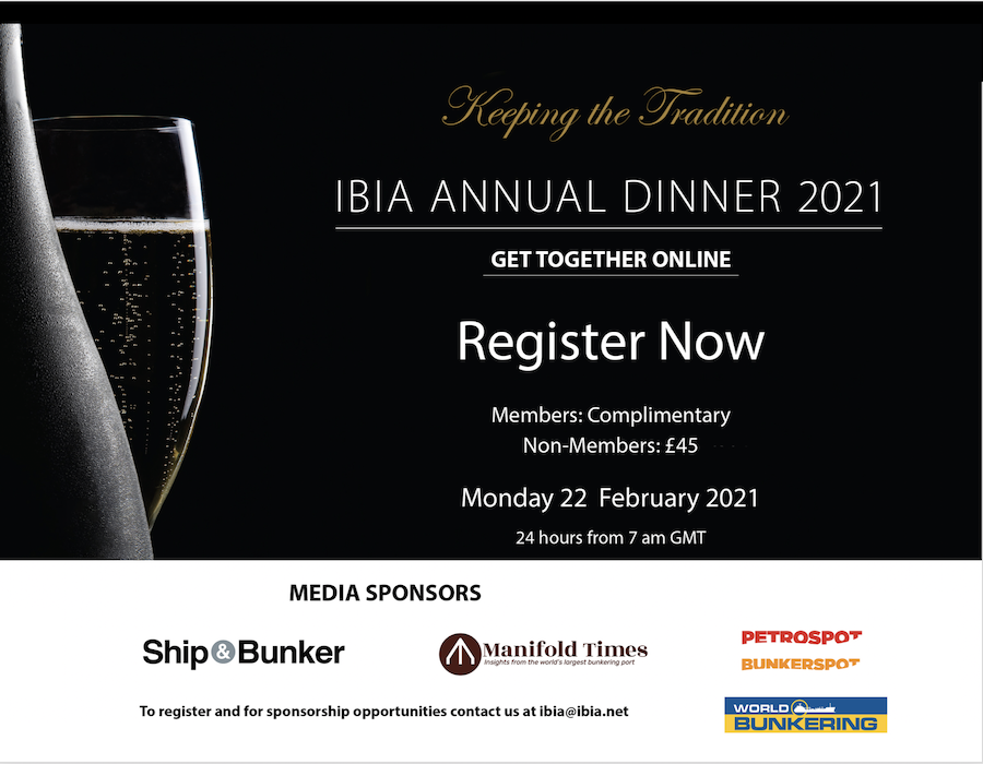 IBIA to hold first ever digital annual dinner networking event