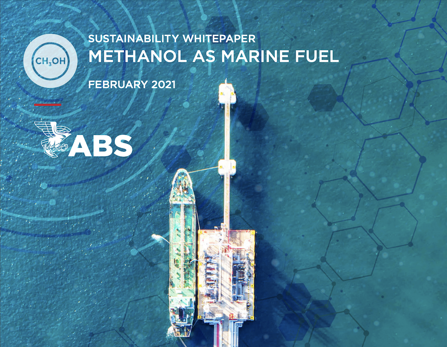 ABS publishes guideline on Methanol as a bunker fuel to highlight potential as green fuel