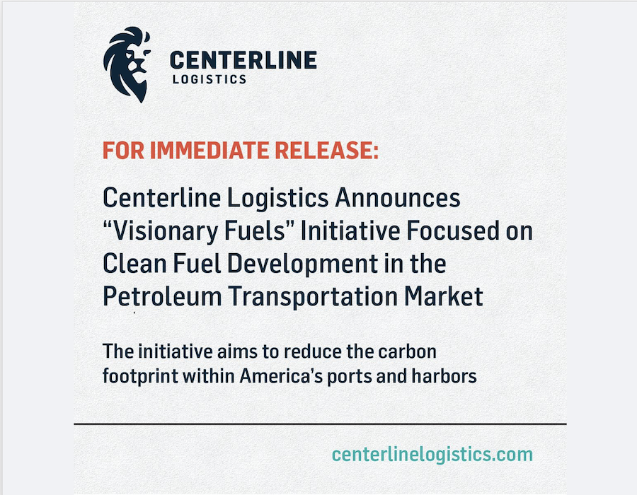 Centerline Logistics spearheads Alternative Fuels Working Group with industry partners