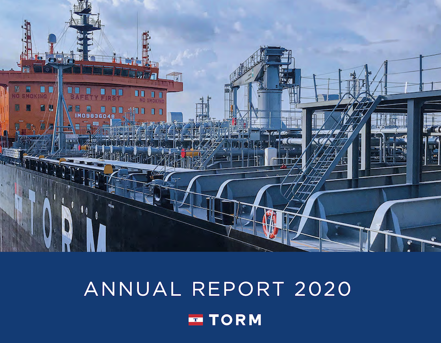 TORM:Scrubber-equipped vessels to carry five different types of bunker fuels