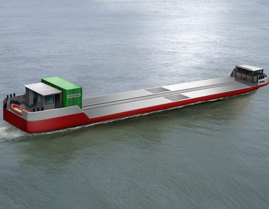 Project 'Flagships' to deploy world's first hydrogen powered commercial cargo vessel in Paris