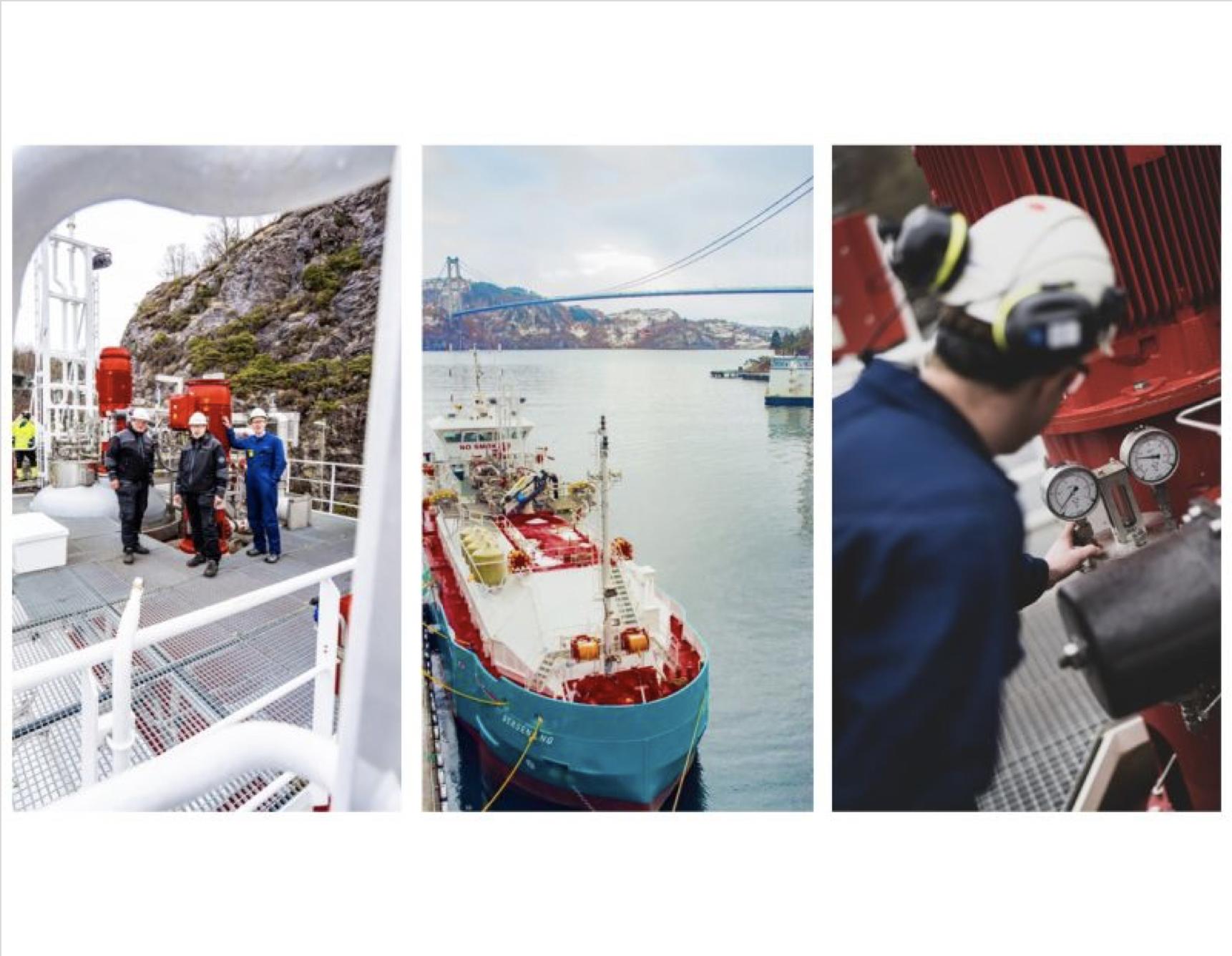 Høglund successfully retrofits LNG bunkering tech on 'Bergen LNG' tanker