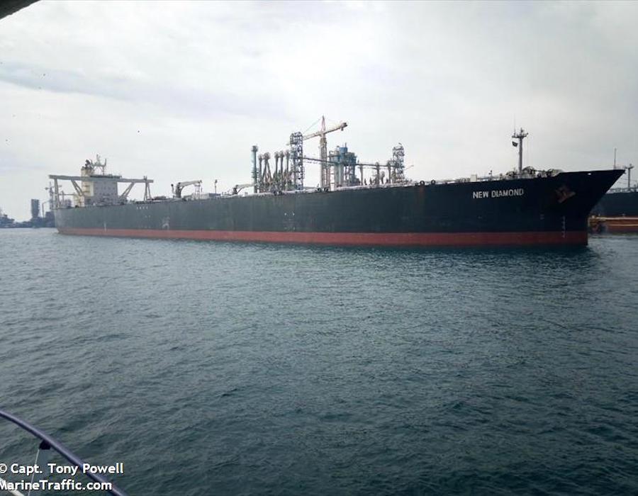 Sri Lanka sends USD 17.38 million Marine Pollution claim to 'MT New Diamond' owners