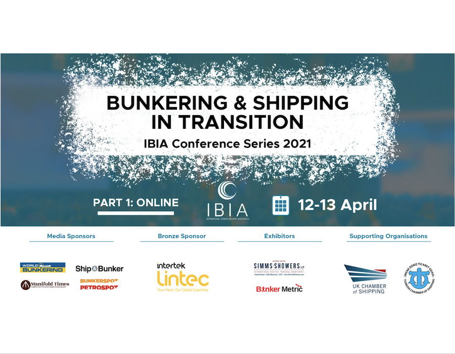 IBIA 'Bunkering & Shipping in Transition' conference on 12-13 April to discuss maritime market developments