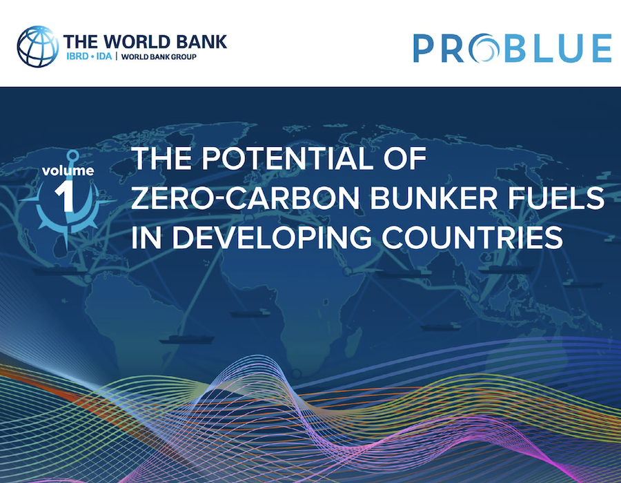 World Bank report discusses decarbonisation; names 'most promising' future bunker fuels
