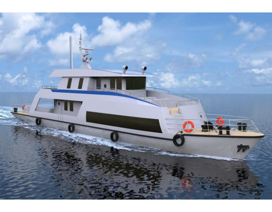 CCS and partners to build China's first hydrogen fuel cell-powered public service vessel
