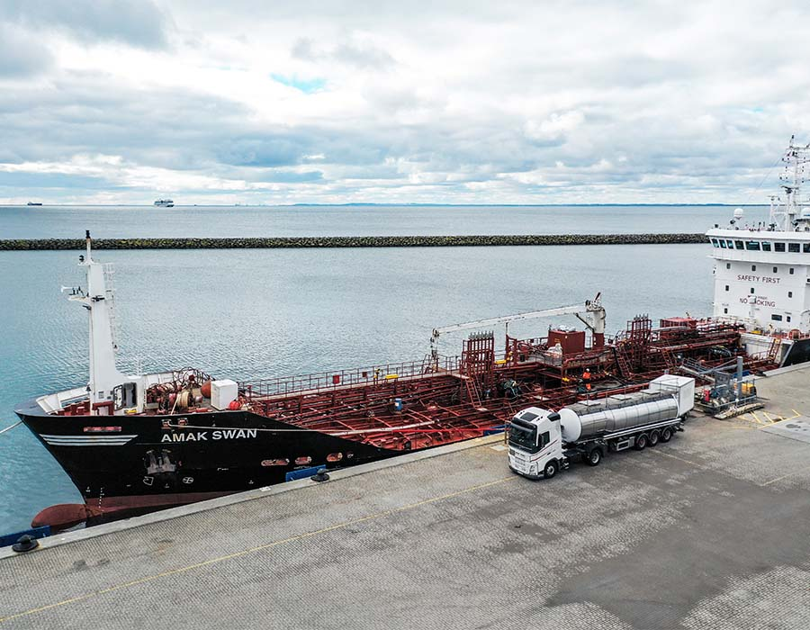 Bunker Holding to offer B30 biofuel bunkers to vessels passing Danish straits