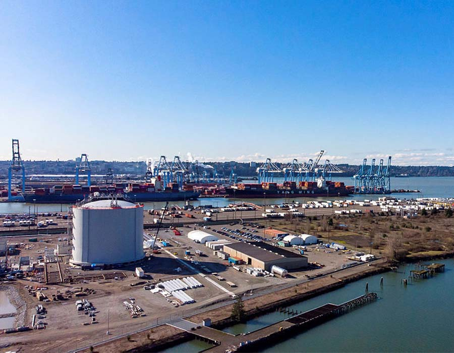 Puget LNG and GAC Bunker Fuels to supply LNG marine fuel by barge from Tacoma port