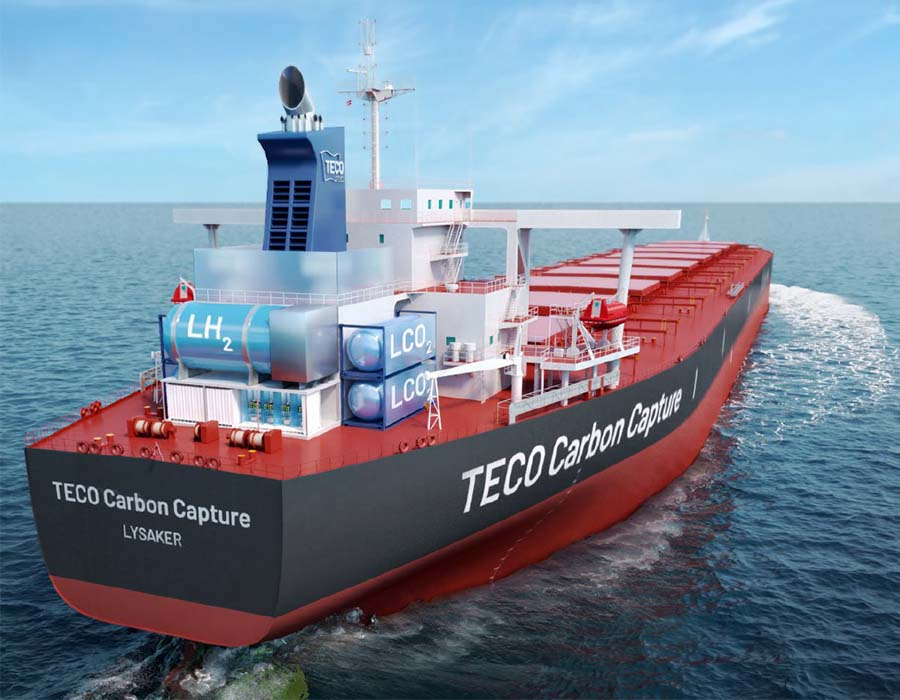 TECO 2030: Carbon Capture Storage technology able to reduce CO2 emissions by 30-40%