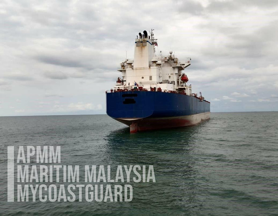 Malaysia: MMEA arrests oil tanker, provides update on investigations to date