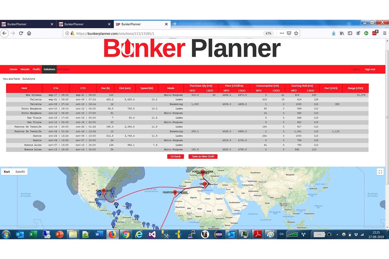 BunkerPlanner by BunkerMetric now available on Kongsberg Digital's Kognifai Marketplace