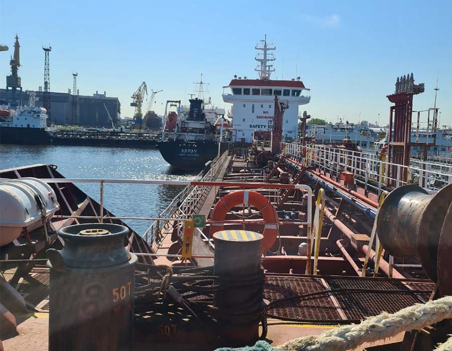 Baltic Fuel Company acquires ice class bunker tanker for regional operations