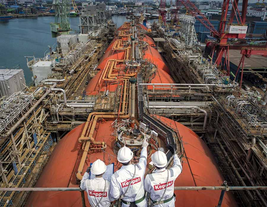 Keppel and Sembcorp Marine discuss potential merger in pivot to renewables sector