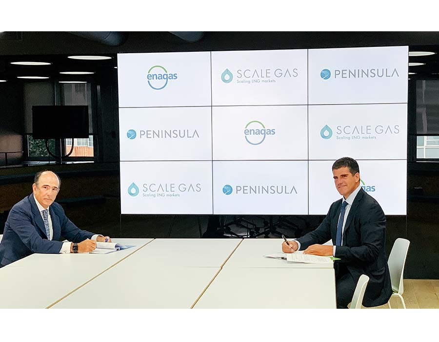 Scale Gas, Peninsula to co-build and co-own an LNG bunkering vessel
