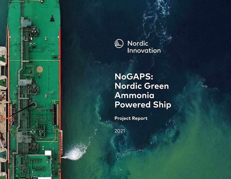 Nordic consortium report reveals promising outlook for green ammonia-powered vessel