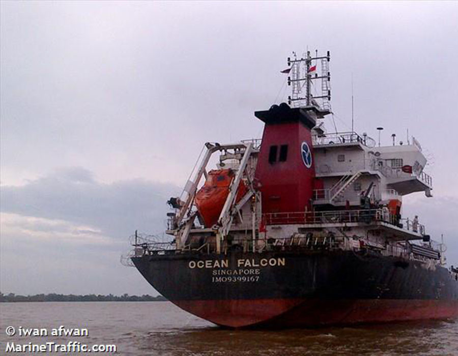 """Singapore-registered tankers """"Ocean Rose"""" and """"Ocean Falcon"""" detained"""