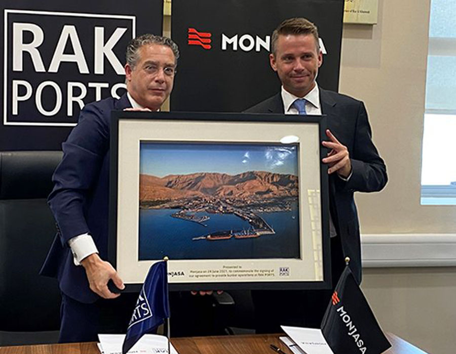 Monjasa Group enters bunkering partnership with Ras Al Khaimah Ports