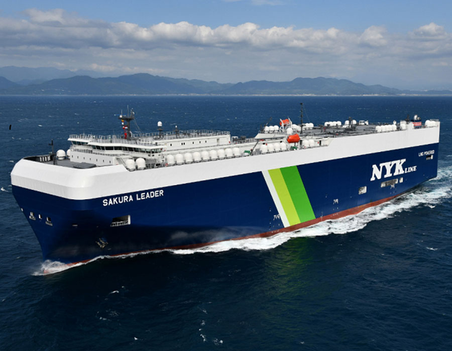 NYK enters MOU to build 12 LNG-fuelled PCTCs at two Japanese shipyards