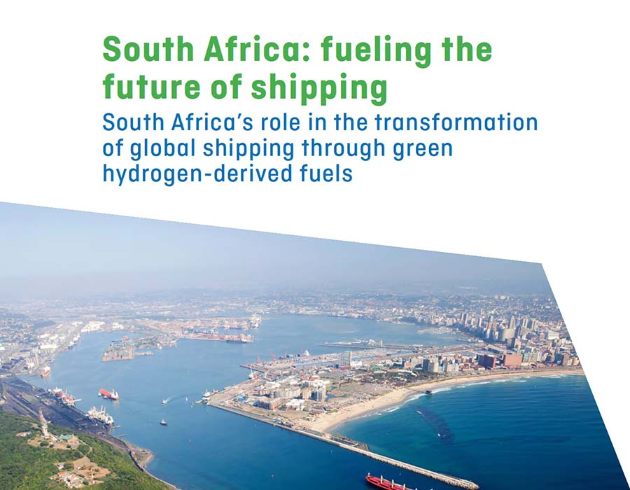 Study shows South Africa is well placed to lead the production of zero carbon bunker fuels