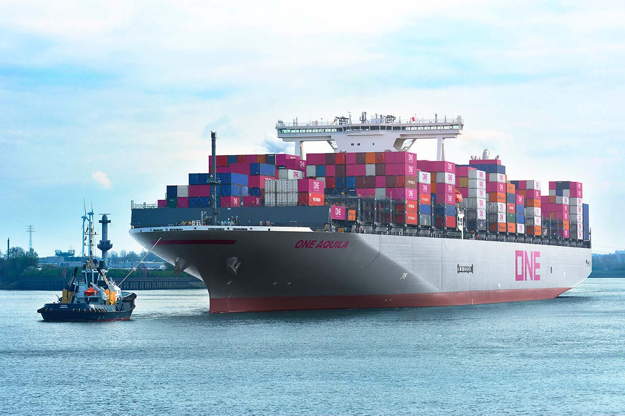 PSA and ONE collaborate to reduce maritime environmental footprint