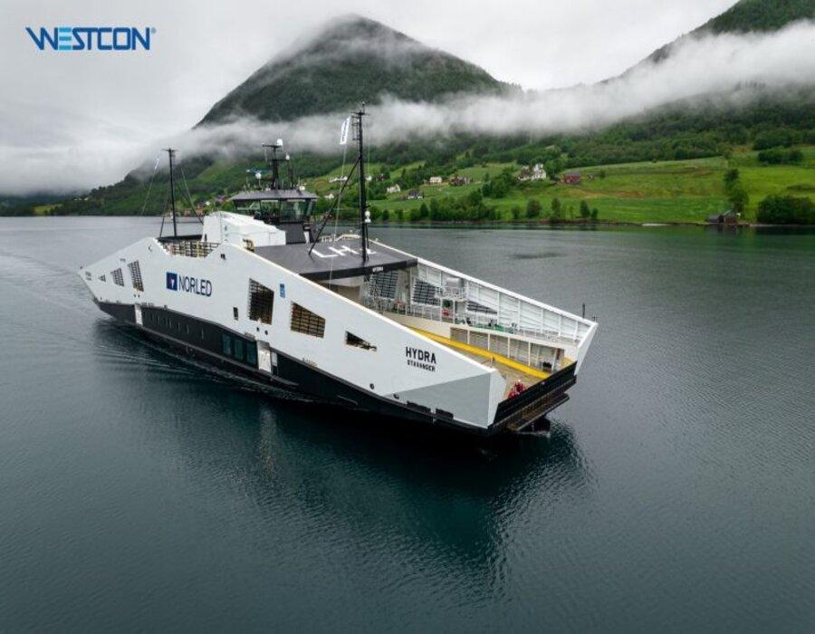 LMG Marin: World's first hydrogen-powered ferry delivered to Norweigen owner