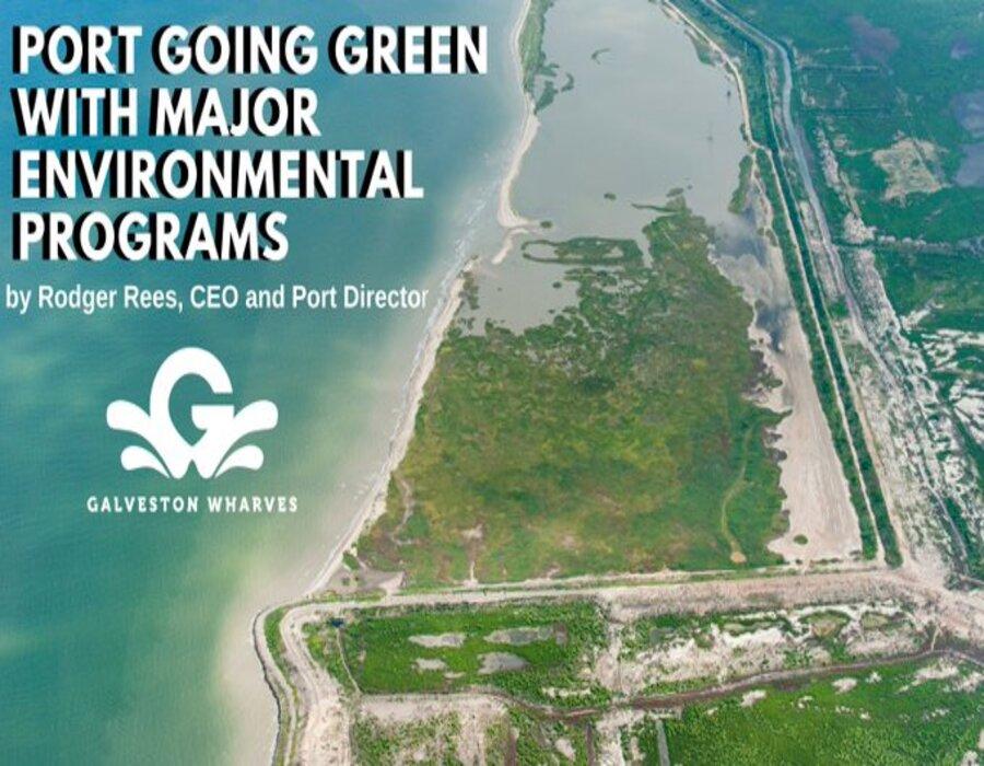 Port of Galveston highlights LNG bunkering and major green environmental programs