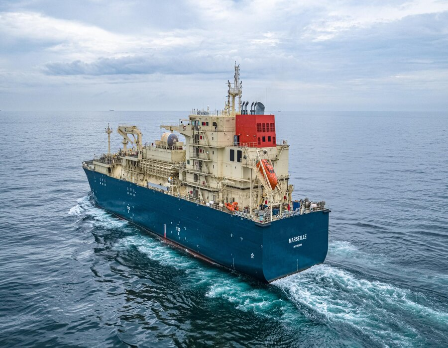France-based LNG bunkering newbuild vessel completes successful sea and gas trials