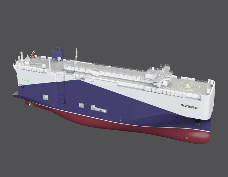 Volkswagen Group Logistics orders four LNG-powered newbuild car carriers from Chinese yard