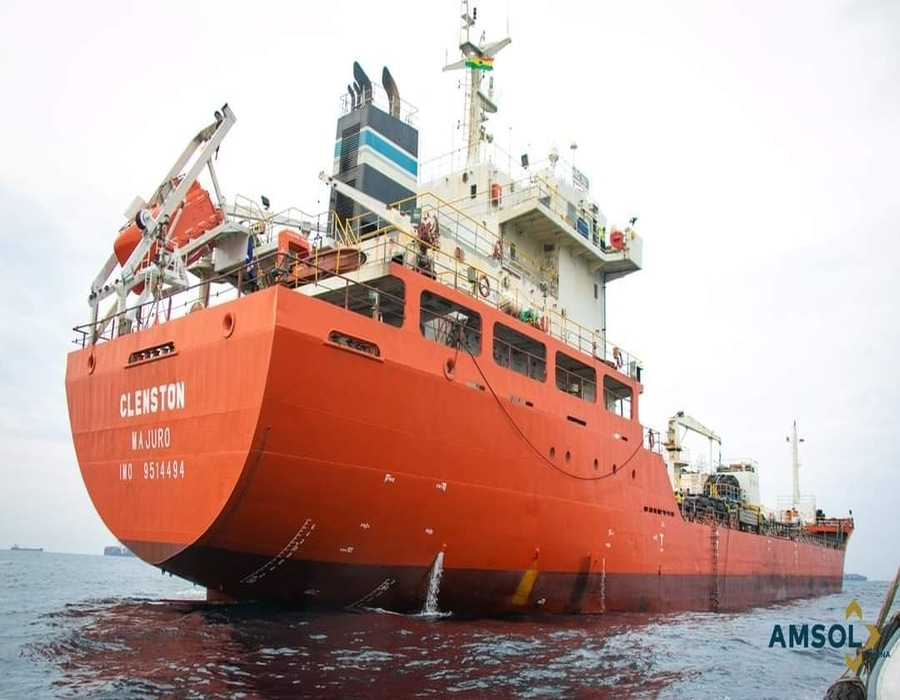 AMSOL Ghana commences offshore bunkering operations for Ghana Oil Company
