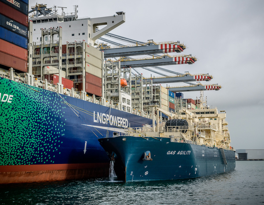 Delegates discuss LNG bunkering at TotalEnergies' inaugural Marine LNG Forum in April